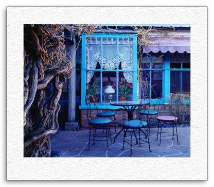 Blue Cafe - Santa Fe, NM