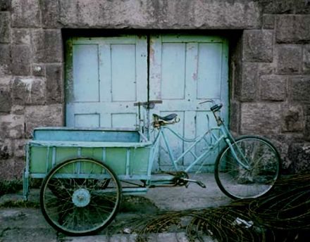 Green Bicycle-Yanai, China